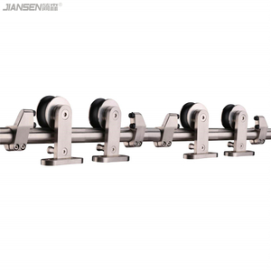 stainless steel barn door sliding hardware manufacturer-hm3008